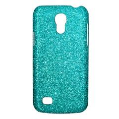 Tiffany Aqua Blue Glitter Galaxy S4 Mini