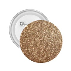 Copper Rose Gold Metallic Glitter 2.25  Buttons