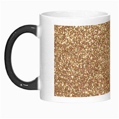 Copper Rose Gold Metallic Glitter Morph Mugs