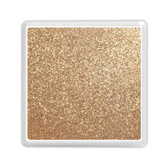 Copper Rose Gold Metallic Glitter Memory Card Reader (Square)