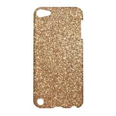 Copper Rose Gold Metallic Glitter Apple iPod Touch 5 Hardshell Case