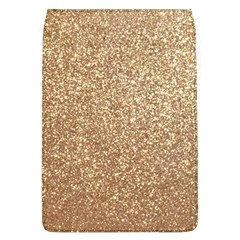 Copper Rose Gold Metallic Glitter Flap Covers (L)