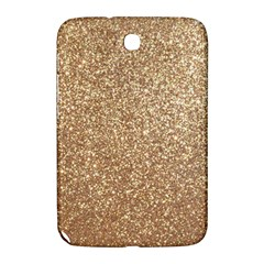 Copper Rose Gold Metallic Glitter Samsung Galaxy Note 8.0 N5100 Hardshell Case