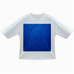 Night Sky Sparkly Blue Glitter Infant/Toddler T-Shirts