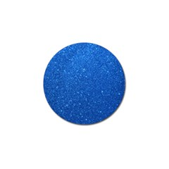Night Sky Sparkly Blue Glitter Golf Ball Marker (4 pack)