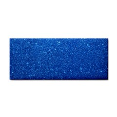 Night Sky Sparkly Blue Glitter Cosmetic Storage Cases