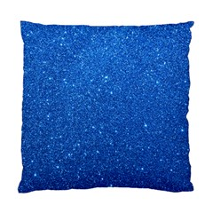 Night Sky Sparkly Blue Glitter Standard Cushion Case (Two Sides)