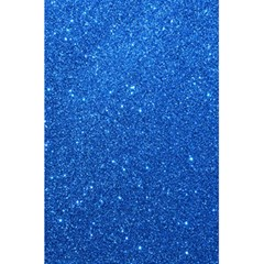 Night Sky Sparkly Blue Glitter 5.5  x 8.5  Notebooks