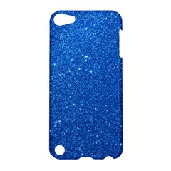 Night Sky Sparkly Blue Glitter Apple iPod Touch 5 Hardshell Case