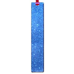 Night Sky Sparkly Blue Glitter Large Book Marks
