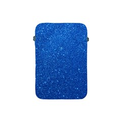 Night Sky Sparkly Blue Glitter Apple iPad Mini Protective Soft Cases