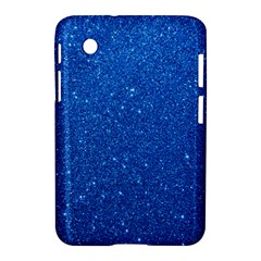 Night Sky Sparkly Blue Glitter Samsung Galaxy Tab 2 (7 ) P3100 Hardshell Case