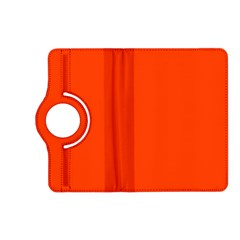 Bright Fluorescent Attack Orange Neon Kindle Fire HD (2013) Flip 360 Case