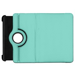 Tiffany Aqua Blue Puffy Quilted Pattern Kindle Fire HD 7