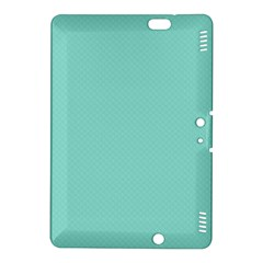 Tiffany Aqua Blue Puffy Quilted Pattern Kindle Fire HDX 8.9  Hardshell Case