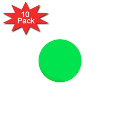 Lanai Lime Green - Acid Green 1  Mini Buttons (10 pack)