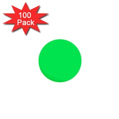 Lanai Lime Green - Acid Green 1  Mini Buttons (100 pack)