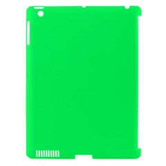 Lanai Lime Green - Acid Green Apple iPad 3/4 Hardshell Case (Compatible with Smart Cover)