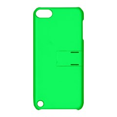 Lanai Lime Green - Acid Green Apple iPod Touch 5 Hardshell Case with Stand