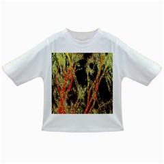 Artistic Effect Fractal Forest Background Infant/toddler T Shirts