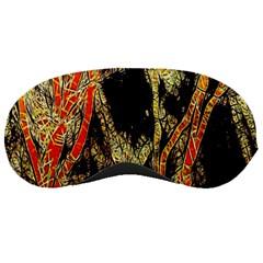 Artistic Effect Fractal Forest Background Sleeping Masks
