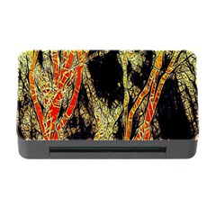 Artistic Effect Fractal Forest Background Memory Card Reader with CF
