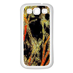 Artistic Effect Fractal Forest Background Samsung Galaxy S3 Back Case (White)