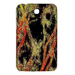 Artistic Effect Fractal Forest Background Samsung Galaxy Tab 3 (7 ) P3200 Hardshell Case