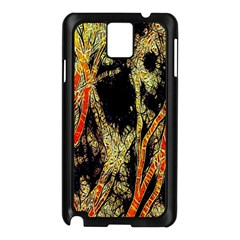 Artistic Effect Fractal Forest Background Samsung Galaxy Note 3 N9005 Case (Black)