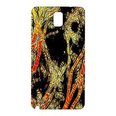 Artistic Effect Fractal Forest Background Samsung Galaxy Note 3 N9005 Hardshell Back Case
