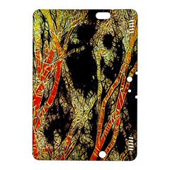 Artistic Effect Fractal Forest Background Kindle Fire Hdx 8 9  Hardshell Case