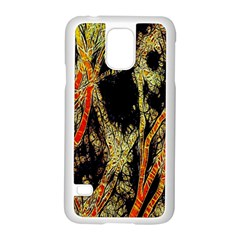 Artistic Effect Fractal Forest Background Samsung Galaxy S5 Case (White)