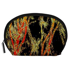 Artistic Effect Fractal Forest Background Accessory Pouches (Large)