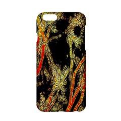 Artistic Effect Fractal Forest Background Apple iPhone 6/6S Hardshell Case
