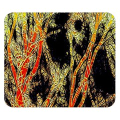 Artistic Effect Fractal Forest Background Double Sided Flano Blanket (Small)