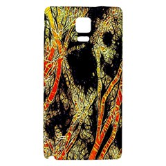 Artistic Effect Fractal Forest Background Galaxy Note 4 Back Case