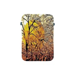 Summer Sun Set Fractal Forest Background Apple iPad Mini Protective Soft Cases