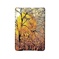 Summer Sun Set Fractal Forest Background iPad Mini 2 Hardshell Cases