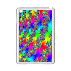 Digital Rainbow Fractal iPad Mini 2 Enamel Coated Cases