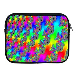 Digital Rainbow Fractal Apple iPad 2/3/4 Zipper Cases