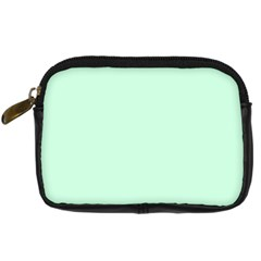 Pale Green Summermint Pastel Green Mint Digital Camera Cases