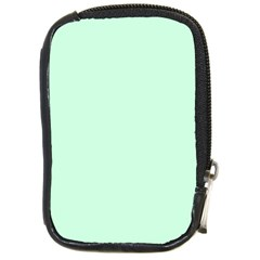 Pale Green Summermint Pastel Green Mint Compact Camera Cases