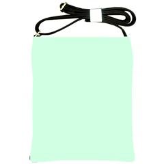 Pale Green Summermint Pastel Green Mint Shoulder Sling Bags