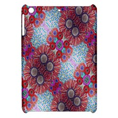 Floral Flower Wallpaper Created From Coloring Book Colorful Background Apple Ipad Mini Hardshell Case