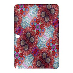 Floral Flower Wallpaper Created From Coloring Book Colorful Background Samsung Galaxy Tab Pro 10.1 Hardshell Case