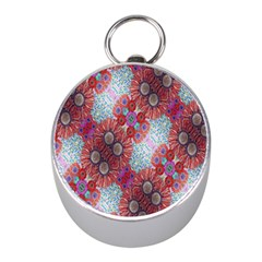 Floral Flower Wallpaper Created From Coloring Book Colorful Background Mini Silver Compasses