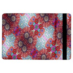 Floral Flower Wallpaper Created From Coloring Book Colorful Background iPad Air Flip