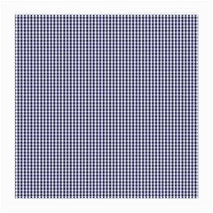 USA Flag Blue and White Gingham Checked Medium Glasses Cloth (2-Side)