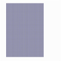 USA Flag Blue and White Gingham Checked Large Garden Flag (Two Sides)