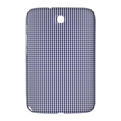 USA Flag Blue and White Gingham Checked Samsung Galaxy Note 8.0 N5100 Hardshell Case